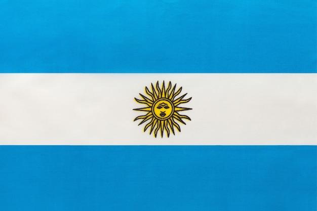 Drapeau national argentin Photo Premium