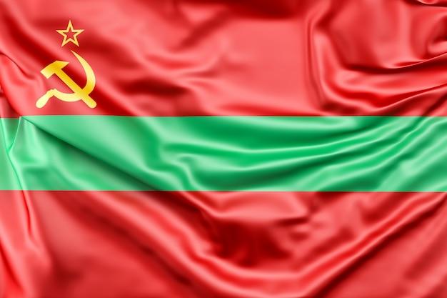 Drapeau De La Transnistrie | Photo Gratuite