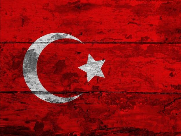 Drapeau Turquie Photo gratuit