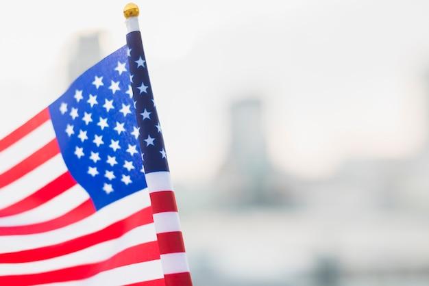 Drapeau Usa Pour Le Jour De L'indépendance Photo gratuit