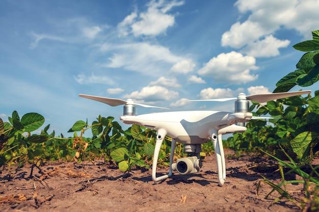 Drone De Champ Photo Premium