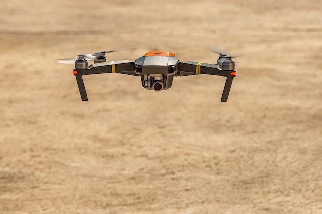 Drone Enregistre Une Image Grand Angle Photo Premium