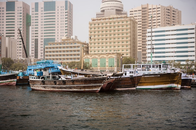 Dubai Creek Photo gratuit