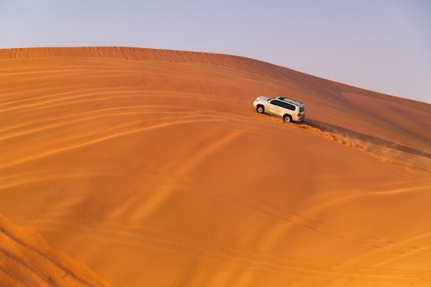 Dune du désert bashing Photo Premium