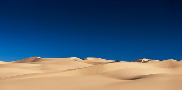 Dunes De Sable Impériales En Californie Usa Photo Premium