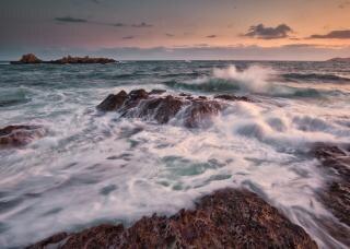L'eau des marées Photo gratuit