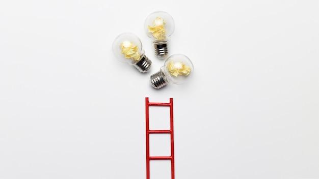 Échelle Avec Ampoules Photo gratuit