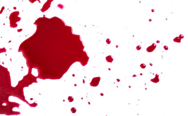 Éclaboussures de sang Photo gratuit