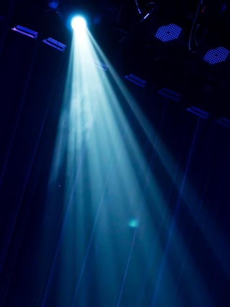 Éclairage de concert Photo Premium
