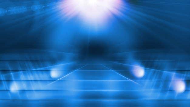 Éclairer le passage avec la lumière parasite Photo Premium