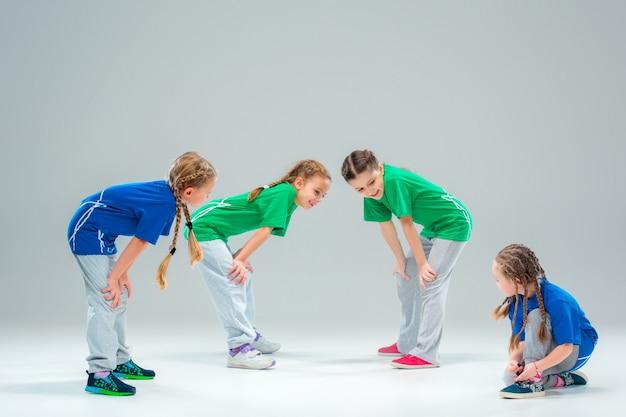 École De Danse Pour Enfants, Ballet, Hiphop, Rue, Danseurs Funky Et Modernes Photo gratuit