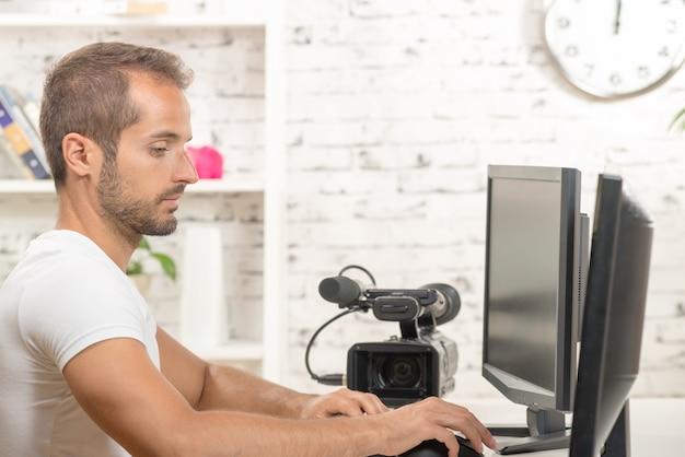 Editeur De Vidéo Photo Premium