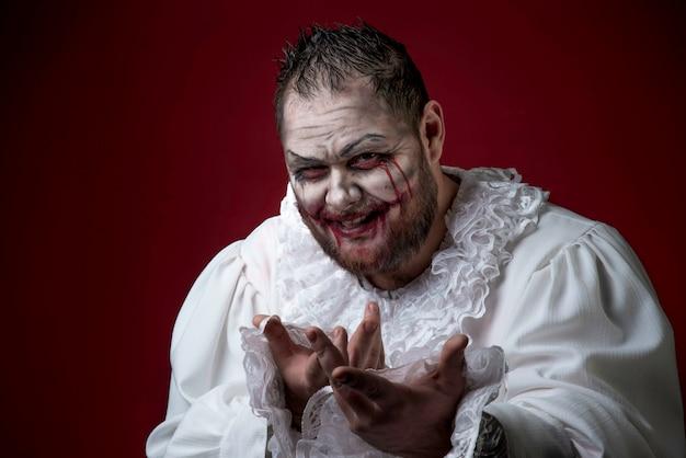 Effrayant clown Photo Premium