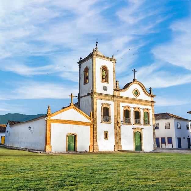 Eglise au brésil Photo Premium