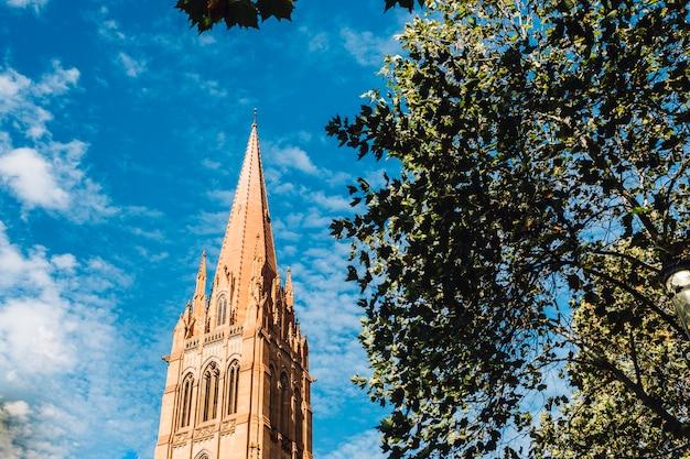 Église Et Ciel Bleu à Melbourne Photo gratuit
