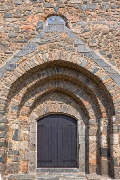 Église porte hdr Photo gratuit
