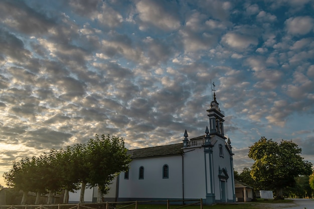 Eglise de saavedra Photo Premium