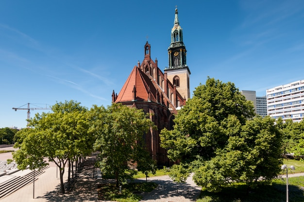 Eglise sainte-marie, berlin Photo Premium