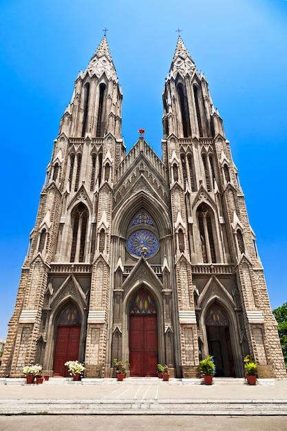 Eglise sainte philomène Photo Premium
