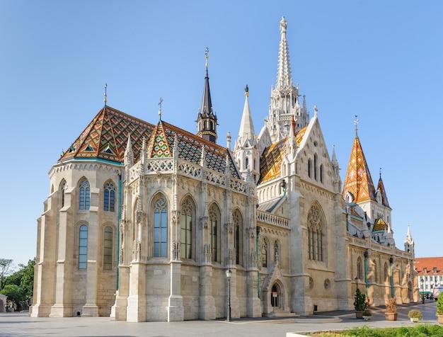 Eglise st mathias à budapest Photo Premium