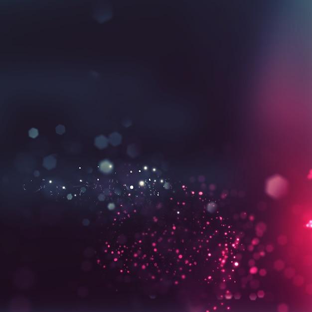 Élégant fond de texture légère avec effet bokeh Photo gratuit