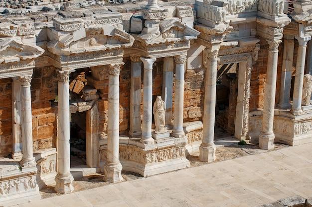 Éléments De L'ancien Amphithéâtre Photo Premium