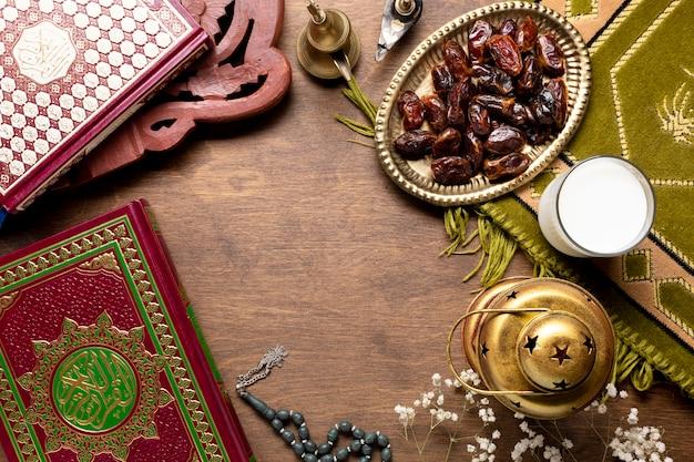 Éléments De Célébration Islamique Du Nouvel An Photo gratuit