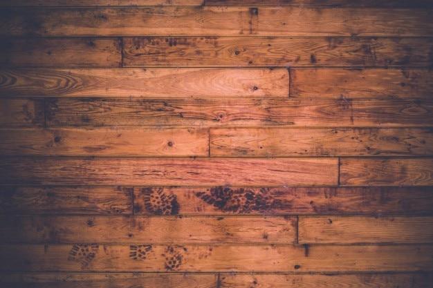 Empreintes de pas sur le sol Photo gratuit
