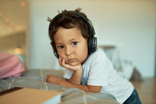 Enfants, Technologie, Son Photo gratuit