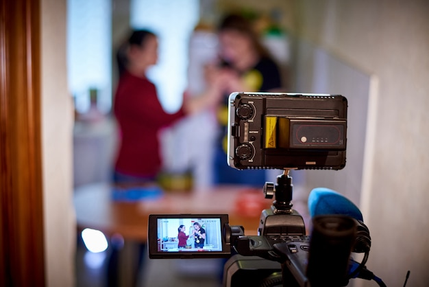 Enregistrement De Caméra Photo Premium
