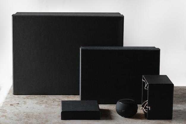 Ensemble de coffret cadeau blanc Photo Premium