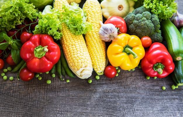 Ensemble de légumes Photo Premium