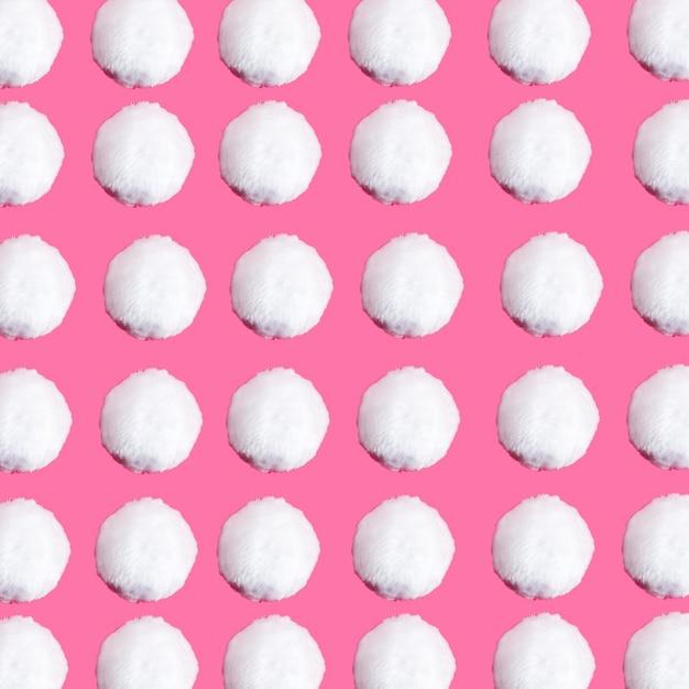 Ensemble de nombreuses boules de neige Photo gratuit