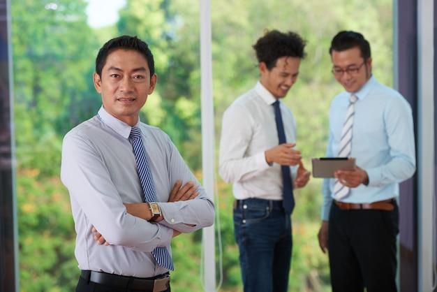 Entrepreneur à succès Photo gratuit