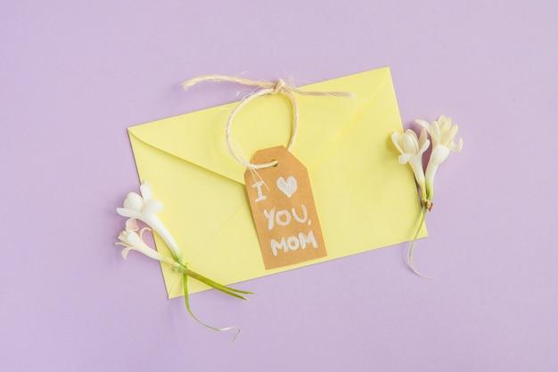 Enveloppe Pastel Pour La Fête Des Mères Photo gratuit