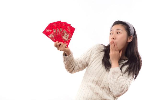 Enveloppe traditionnelle adulte belle chance Photo gratuit