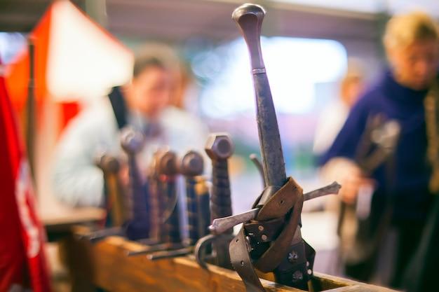 Épées médiévales Photo Premium