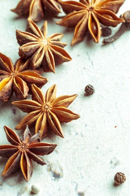 Épices et herbes Photo Premium