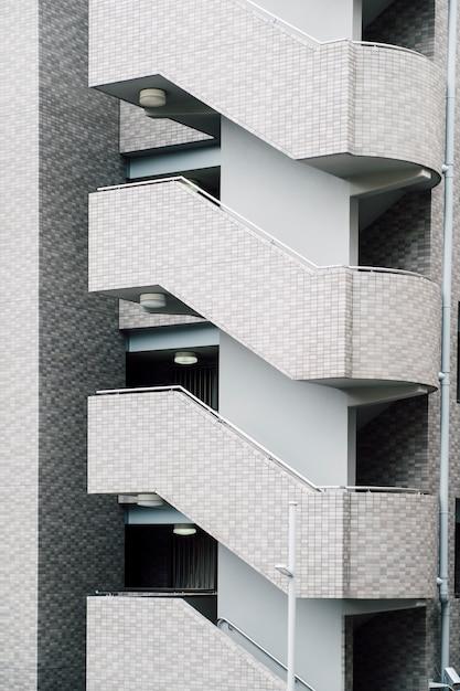 Escalier de l'appartement Photo gratuit