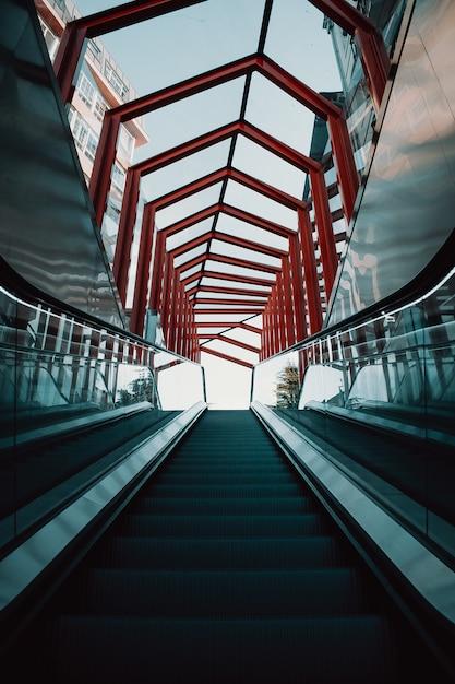 Escaliers Mécaniques Photo Premium