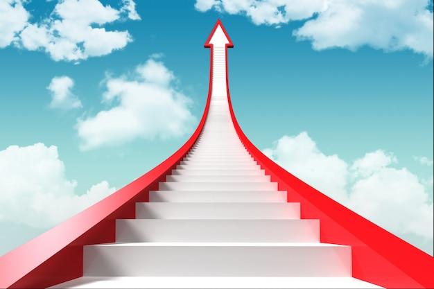 Escaliers Vers Le Ciel Photo gratuit