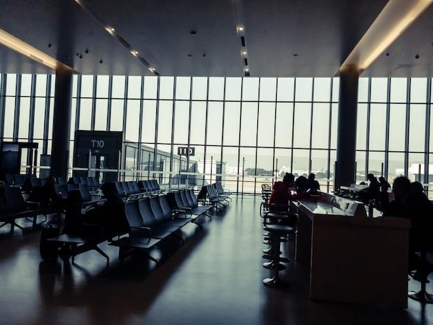 Espace D'attente à L'aéroport Photo Premium