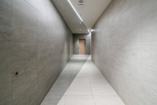 Espace intérieur et dalles de sol vides Photo Premium