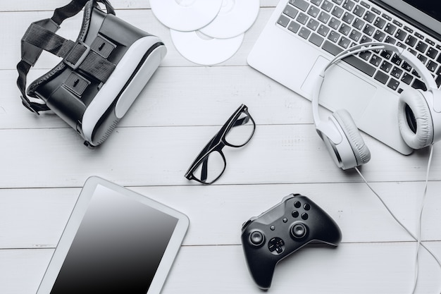 Espace De Travail Gamer Photo Premium