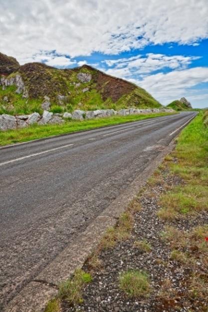 Est Antrim Route De Campagne Hdr Photo gratuit