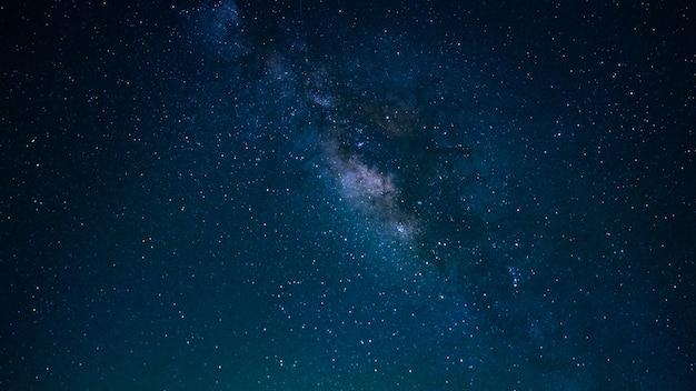 Étoile Avec Fond De L'univers De La Voie Lactée Photo Premium