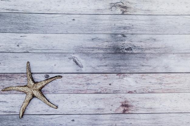 Etoile de mer noire d'en haut Photo gratuit