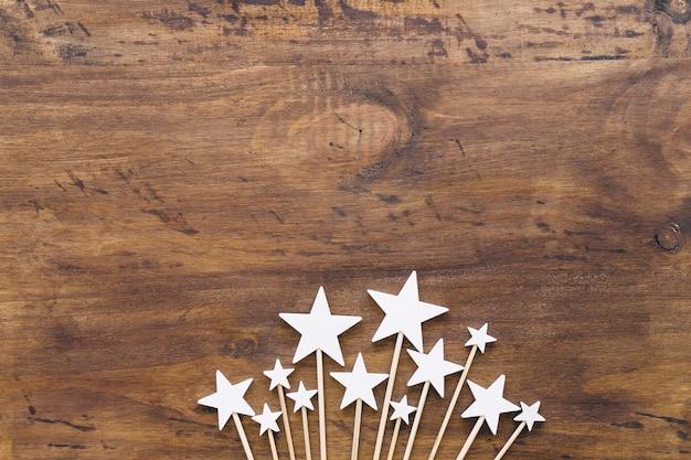 Étoiles Sur Des Bâtons Photo gratuit