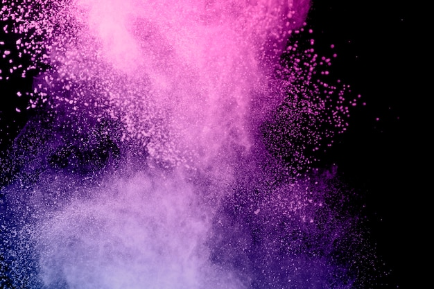 Étonnant Vol Coloré Nuage Colorant Photo gratuit