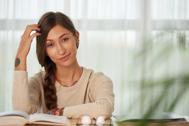 Étudier à la maison Photo gratuit